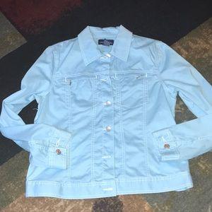 NWOT charter club cotton jacket